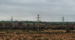Between The Lines (Mark Wasteney) Tags: telegraphtuesday htt powerlines powerpole pylons electric nationalgrid