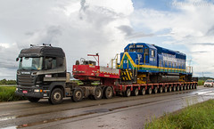 FTL - Ferrovia Transnordestina Logística. (Cristiano Oliveira.) Tags: sd402 nova transnordestina ftl
