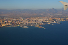 Leaving Alicante, October 10th 2011 (Southsea_Matt) Tags: echtb iberia oneworld airbus a320214 canon 30d october 2011 autumn aviation windowseat windowview ib353 spain alicante