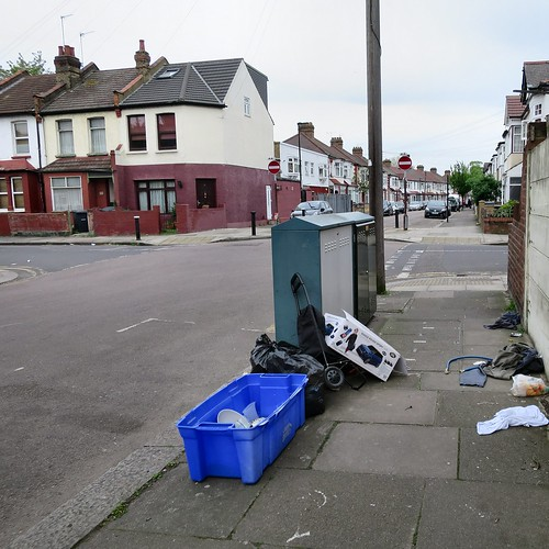 Mafeking Road, dumped rubbish