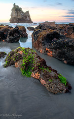 The Starfish Retreat (OJeffrey Photography) Tags: starfish westcoast southisland newzealand pano panorama seastack sunset ojeffrey ojeffreyphotography jeffowens nikon d850