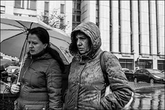 4_DSC4770 (dmitryzhkov) Tags: urban city everyday public place outdoor life human social stranger documentary photojournalism candid street dmitryryzhkov moscow russia streetphotography people man mankind humanity bw blackandwhite monochrome rain autumn badweather