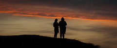 (AAcerbo) Tags: sunset silhouette oceanbeach sanfrancisco california widescreen cinematic