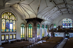(Rodney Harvey) Tags: abandoned church saint louis urbex urban decay exploration hood stained glass architecture