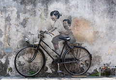 Kids On A Bike (_ Ivor_) Tags: ernestzacharevic kidsonabike mural georgetown penang malasia d7200 nikond7200 18300