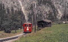 BVZ ABDeh8/8 2041 (maurizio messa) Tags: bvz abdeh88 schmalspurbahn valais wallis switzerland svizzera mau bahn ferrovia treni trains railway railroad railcar triebwagen triebzug triebzuge elettromotrice