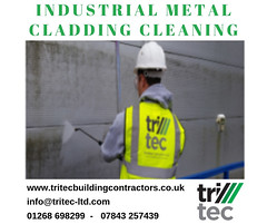 Industrial Metal Cladding Cleaning (Tritec Building contractors) Tags: industrial metal cladding cleaning roofingcleaning metalsheetcladding commercialroofingcleaningservice commercialmetalroofing