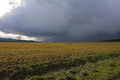 Regenwolken (rolandwittenberg) Tags: regen regenwolken harz harzvorland wetter regenwetter kulturlandschaft