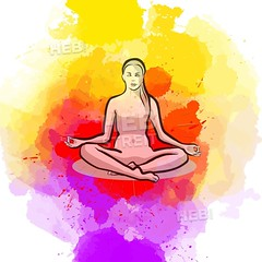 Lotus Yoga Pose (Hebstreits) Tags: art asana background body buddhism colorful concentration concept creative design drawing energy engraving exercise female fitness girl handdrawn health healthy icon illustration indian isolated lifestyle logo lotus meditate meditating meditation pattern people pose poses position posture relax relaxation silhouette spiritual sport symbol vector watercolor wellness white woman yoga young zen