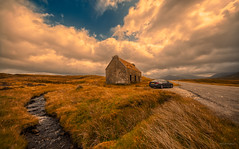 Fainmore, a lonesome abandoned old shepherd's house along the A832, a few klicks away from Dundonnell. (Alex-de-Haas) Tags: aurorahdr aurorahdr2019 bergen blackstone d850 gb greatbritain hdr irix irix11mm irixblackstone lightroom nikon nikond850 schotland scotland skylum uk unitedkingdom abandoned berg cloud clouds deserted desolated highlands holidays hooglanden house huis journey landscape landschaft landschap lucht mountain mountains nature natuur onbewoond outdoor outdoors reis reizen remains roadtrip rondreis ruin ruine ruins skies sky summer travel travelling uninhabited urbex vacation vakantie verlaten wolk wolken zomer garve