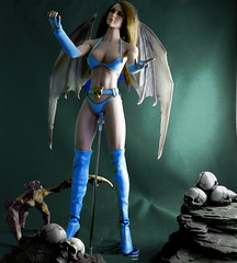 Blue Angel (Cremdon) Tags: 16scale actionfigures sixthscale bat