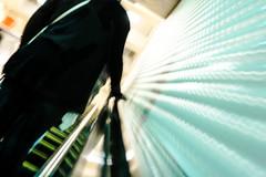 montgomery ascent (pbo31) Tags: sanfrancisco city nikon d810 color april 2019 boury pbo31 spring silhouette blue motionblur escalator financialdistrict bart station montgomery ascent exit underground subway metro