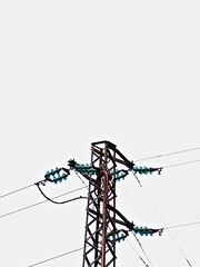 elektromast (paaddor) Tags: liguria liguriaklicks dianomarina italy electric line powerlines power