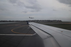 Scenes from the Air: Delta Airlines Flight 2622 (Boston to Detroit) - Friday April 19th, 2019 (cseeman) Tags: airports airlines delta deltaairways airplanes travelers terminal flying delta2622 wing window windowseat clouds photosfromthesky taxiing runway delta262204192019 detroit michigan unitedstates dtw detroitmetro airbus a319 airbusa319 boston massachusetts bostonfromtheair