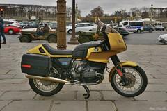 BMW 1000 (pontfire) Tags: véhicule de collection oldtimer ancienne antique vieille old moto motorcycle motobike bike motocyclette bmw 1000 la 19e traversée hivernale paris 2019 en anciennes place concorde オートバイ motorrad motocicleta 摩托车