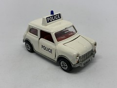 Dinky Toys / Meccano - Number 250 - Mini Cooper Police Car - Miniature Diecast Metal Scale Model Emergency Services Vehicle (firehouse.ie) Tags: dinky250 bmc austincoopers austincooper vintage toys toy austinmini morrismini morris minicar meccano models model metal miniatures miniature minicooper car police mini minipolice dinkytoys dinky