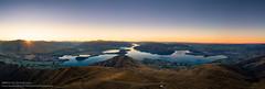 Above Roys Peak (William C. Y. Chu) Tags: wanaka otagoregion newzealand lakewanaka royspeak southisland hiking twilight dusk sunset drone aerial aerialview dji mavic2 mavic2pro panorama