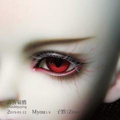 2019-01-12_Myou-四分-子默(Zimo)-6-01 (壽客菊鷹) Tags: myou 四分 子默 zimo 14 bjd 壽客菊鷹 娃妝 代妝 make up doll