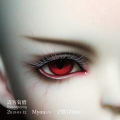 2019-01-12_Myou-四分-子默(Zimo)-5-01 (壽客菊鷹) Tags: myou 四分 子默 zimo 14 bjd 壽客菊鷹 娃妝 代妝 make up doll