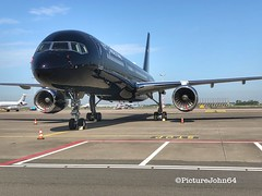 Iphone shot: TAG Aviation UK Boeing 757 (G-TCSX) at Schiphol East (PictureJohn64) Tags: airplane airport iphone luchtvaart nederland netherlands spotter aerodrome flugzeug vliegveld vliegtuig uk spl eham schiphol picturejohn64 aircraft gtcsx 757 boeing aviation tag