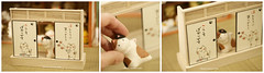 handmade Lucky Cat 幸運な猫 decor,DIY dollhouse, Japanese style dollhouse, handmade lucky cat, DIY miniature, handmade home decor, handmade art dolls, gift and home decor ideas. (charles fukuyama) Tags: japanstyle japanesehandmade unique kitten kitty cute deskdecoration holidaygift birthdaygift xmasgift miniatures dollhouse wooden handpainted claydoll sculpted weddinggift ornament 装飾 ネコ gato gatto chat katze kikuikestudio giftideas japanesedollhouse artdoll handmadecatdoll 和室