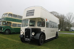 CAP 229 preserved 1940 Bristol K5G Open Top Bus - Brighton, Hove & District (Ray's Photo Collection) Tags: bristol opentop bus detling brightonhovedistrict cap229 352 heritage transport show maidstone kent england uk classic car southeast festival rally preserved 1940 k k5g