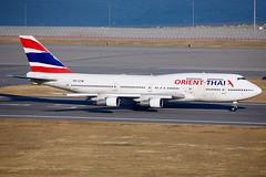 Orient Thai Airlines   Boeing   747-346   HS-UTW (TFG Lau) Tags: vhhh hkia hkg hongkong hongkonginternationalairport shalowan airplane aeroplane aircraft aviation plane planespotting spotting canon canoneos eos eos5d ahkgap orientthaiairlines oea ox boeing boeing747 b747 b743 747 hsutw