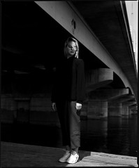Elena (Denis Kostiuk) Tags: bw blackwhite beauty rb mamiya mediumformat model mamiyarb67 medium blond gerl portrait portret plener photography acros filmportrait filmphotography fuji