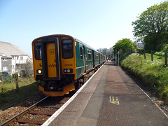 150234 & 150244 Carbis Bay (1) (Marky7890) Tags: gwr 150234 class150 sprinter 2a21 carbisbay railway cornwall stivesbayline train