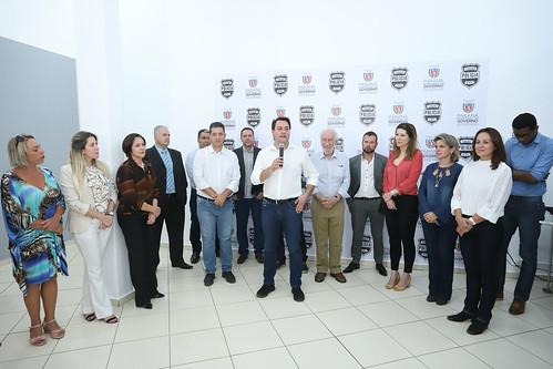 Anúncio de ampliação para 24horas o atendimento a mulher na delegacia de Londrina