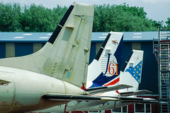 ATP Tails (Martyn Cartledge / www.aspphotography.net) Tags: aerodrome aeroplane air aircraft airline airliner airplane airport aspphotography atp aviation bae cartledge civilairline civilairliner flight fly flying flywinglets j61 jet martyn plane runway transport wwwaspphotographynet wwwflywingletscom uk asp photography