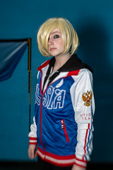 Yuri Plisetsky - Yuri!!! on Ice (timz2011) Tags: yuriplisetsky yurionice yuri watfordgeekyconapril2019 watfordgeekycon cosplay anime gaming film comic lensbaby sol45