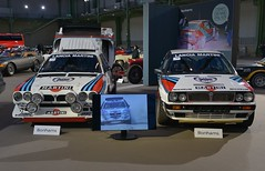 1986 Lancia Delta S4 Groupe B Rallye & 1988 Lancia Delta Integrale Groupe A 8V (pontfire) Tags: 1986 lancia delta s4 groupe b rallye integrale a 8v 1988 bonhams les grandes marques du monde au grand palais 2018 italie italia italy italian italienne cars voiture sports classic car vieille ancienne auto autos automobile automobiles voitures coche coches carro carros pontfire bil αυτοκίνητο 車 автомобиль 自動車 سيارة מכונית sport de automobili wagen rouge intégrale championnat des rallyes world rally championship wrc course race white blanche