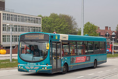 Arriva CX58EUU (Mike McNiven) Tags: arriva northwest wright pulsar vdlbus sthelens depot skelmersdale wigan busstation manchester