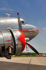 DSC_9308 (scsmitty) Tags: historic aircraft plane douglasdc3 dc3 airplane americanairlines nc17334 flagshipdetroit