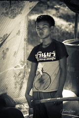 Boy (fredericpecheux) Tags: boy bw nb asia asie cambodge cambodia canon tonlesap happyplanet asiafavorites