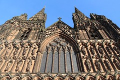 Lichfield Cathedral (richardr) Tags: lichfield cathedral lichfieldcathedral medieval medievalarchitecture gothic gothicarchitecture midlands themidlands staffordshire church building architecture england english britain british greatbritain uk unitedkingdom europe european old history heritage historic