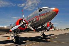 DSC_9311 (scsmitty) Tags: historic aircraft plane douglasdc3 dc3 airplane americanairlines nc17334 flagshipdetroit