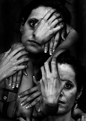 avel avalim (avel avalim) Tags: portrait nb art contemporain rolleiflex