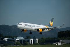 Thomas Cook - OY-TCI - A321-200 (Aviation & Maritime) Tags: oytci thomascook thomascookscandinavia airbus a321 a321200 airbus321 airbus321200 bgo enbr bergenairportflesland bergenlufthavnflesland bergen flesland norway