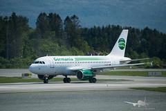 Germania - D-ASTJ - A319-100 (Aviation & Maritime) Tags: dastj germania airbus a319 a319100 airbus319100 airbus319 bgo enbr bergenairportflesland bergenlufthavnflesland bergen flesland norway