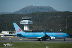 Neos - I-NDMJ - B767-300 (Aviation & Maritime) Tags: indmj neos boeing b767 b767300er boeing767 boeing767300er bgo enbr bergenairportflesland bergenlufthavnflesland bergen flesland norway