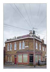The Built Environment, East London, England. (Joseph O'Malley64) Tags: thebuiltenvironment newtopography newtopographics manmadeenvironment manmadestructures building structure formershop formercornershop