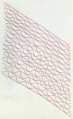 Wave-Particle Duality (Daniel Ari Friedman) Tags: red color black drawing draw doodle sketch paper ink pen philosophy science cartoon