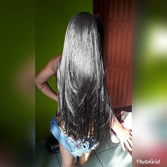 TUk_before (Haarfert) Tags: long short longhair shorthair hairstyle makeover bigcut chop braid ponytail rapunzel haircut cuthair brunette