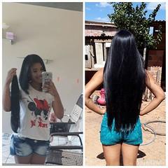 TUk_after (Haarfert) Tags: long short longhair shorthair hairstyle makeover bigcut chop braid ponytail rapunzel haircut cuthair brunette