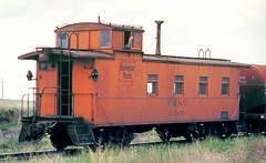 CB&Q Class NE-10 13507 (Chuck Zeiler 48Q) Tags: cbq class ne10 13507 burlington railroad waycar caboose commercecity train alchione chz