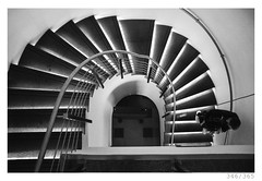 Stairs (Aljaž Anžič Tuna) Tags: stairs fibonacci going photo365 project365 people architecture chiaroscuro contrast onephotoaday onceaday 365 35mm 365challenge 365project nikkor nice nikond800 nikon nikkor28mm 28mm 28mmf28 f28 dailyphoto day d800 bw blackandwhite black white blackwhite beautiful