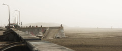 Ocean Beach (AAcerbo) Tags: oceanbeach sanfrancisco california beach fog mist haze seawall widescreen cinematic