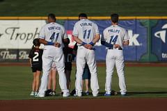 National Anthem (Minda Haas Kuhlmann) Tags: sports baseball milb minorleaguebaseball pacificcoastleague omahastormchasers omahapotholes nebraska omaha papillion outoors nationalanthem fans onfieldpromotions